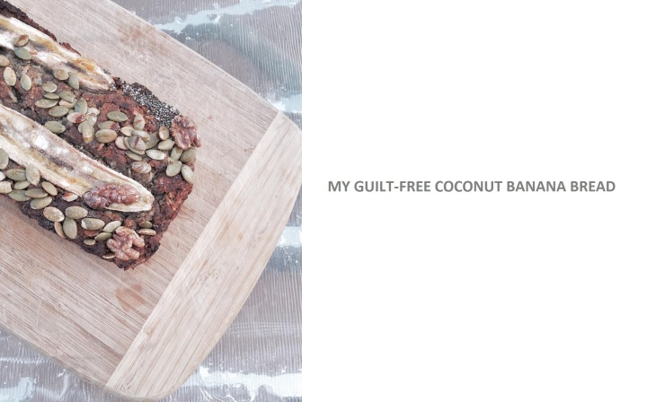 Guilt-free coconut banana bread