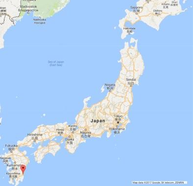 Miyazaki-shi Google Maps